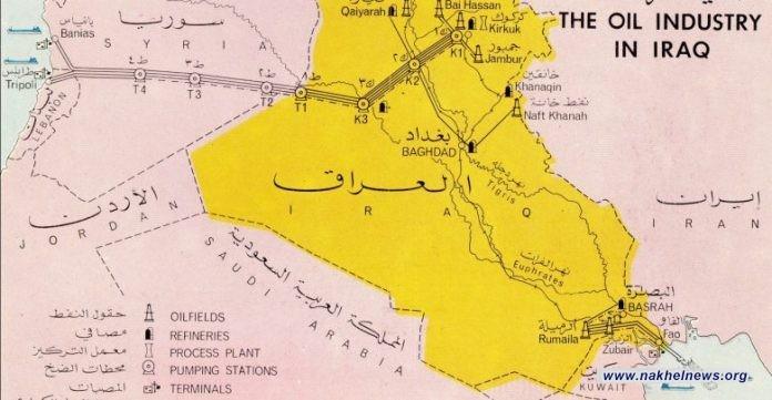 """حريق ضخم بالخط الأهم في الشرق الاوسط.. انبوب يربط العراق بفلسطين ولبنان يعود لعام 1934.. ومحاولات تفعيله """"ممنوعة"""""""