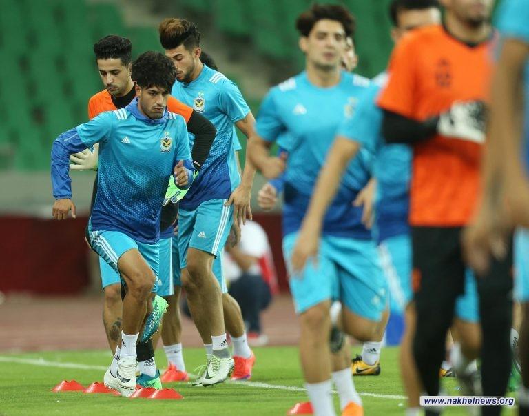 21 لاعباً في قائمة الصقور لمباراة باختاكور الأوزبكي