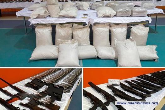 """الأمن الايراني يفكك """"عصابة دولية"""" لتهريب الأسلحة والمخدرات"""