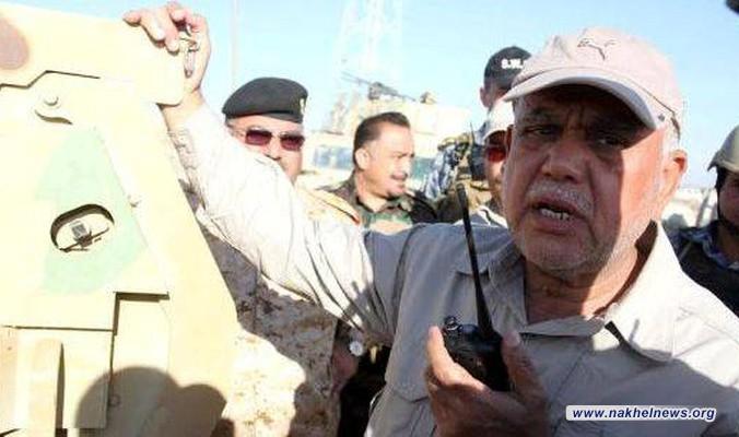 العامري يشرف ميدانيا على عمليات تحرير القيروان غرب الموصل ويوجه بسد الثغرات