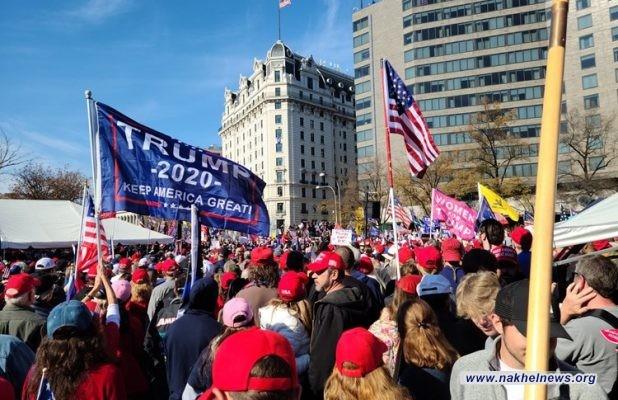 اشتباكات بين مناصرين لترامب وبايدن وسط العاصمة واشنطن