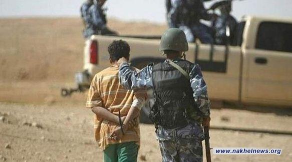 الاستخبارات العسكرية: القبض على ارهابي ينقل معلومات تواجد القوات الامنية في الانبار