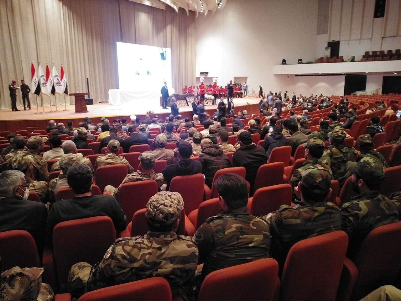 #بالفيديو : تغطية خاصة للحفل التأبيني الرسمي لمجلس النواب العراقي بمناسبة الذكرى السنوية الاولى لاستشهاد قادة النصر .
