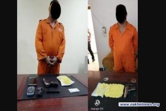 مفتشية الداخلية تعلن ضبط 2000 حبة مخدرة بحوزة شرطي في ذي قار