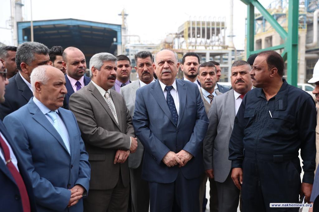 وزير النفط: الطاقات الانتاجية ستصل خلال نهاية هذا العام280 الف برميل