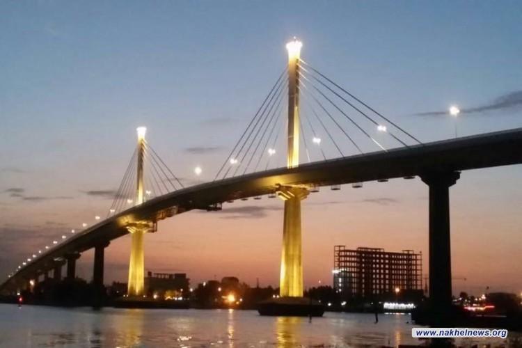 محافظ البصرة : تم انجاز الجسر المعلق وسيفتتح في الاسابيع المقبلة