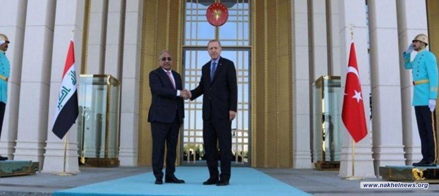 عبد المهدي: العراق يرفض استخدام أراضيه لاي عدوان على تركيا