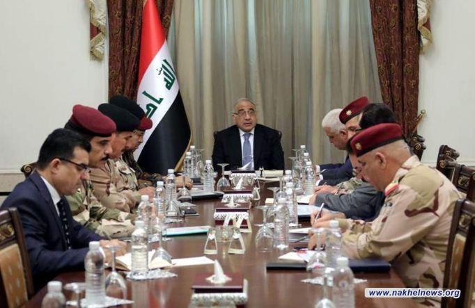 عبدالمهدي يوجه بالكشف عن الجهات التي تقف وراء اطلاق القذائف في محافظتي نينوى والبصرة
