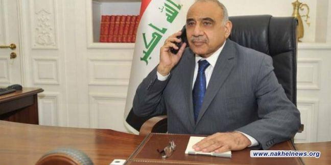 رئيس الوزراء ووزير النفط يبحثان هاتفيا مجريات مؤتمر آوبك