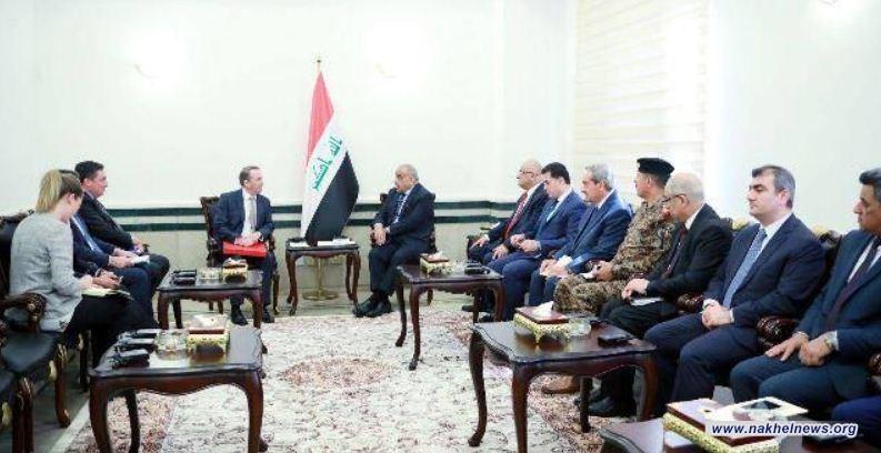 عبد المهدي لـفوكس: الحكومة العراقية تركز على تطوير الاقتصاد والتجارة والاستثمار