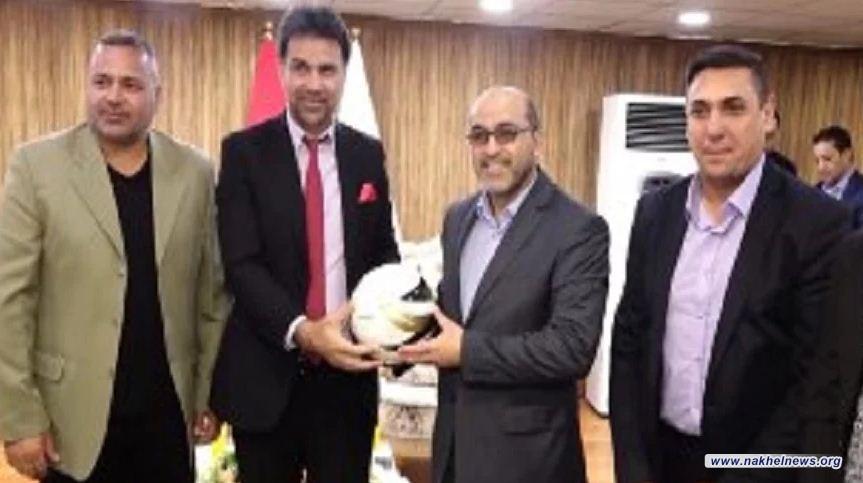 """محافظ بغداد يعلن تنظيم """"بطولات"""" خاصة برواد الكرة العراقية"""