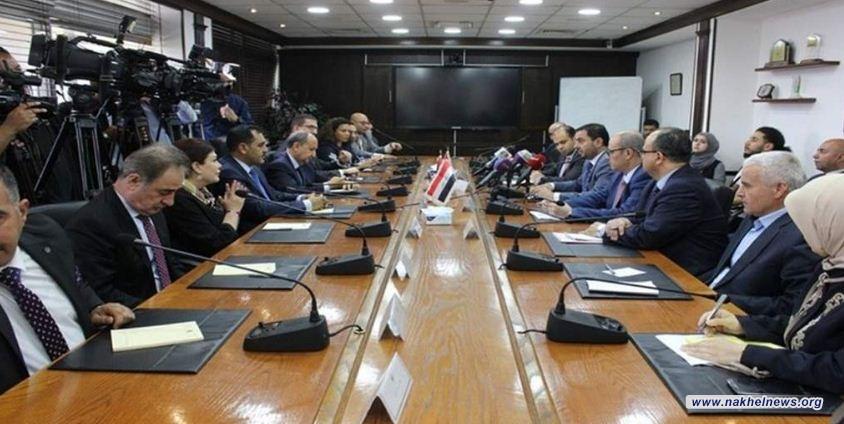 اجتماع ثلاثي عراقي اردني مصري للتعاون في قطاعات الطاقة والبنية التحتية وإعادة الإعمار