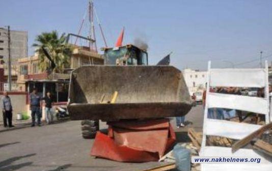 تعرض موظفو أمانة بغداد للتهديد بالقتل في قاطع الرصافة