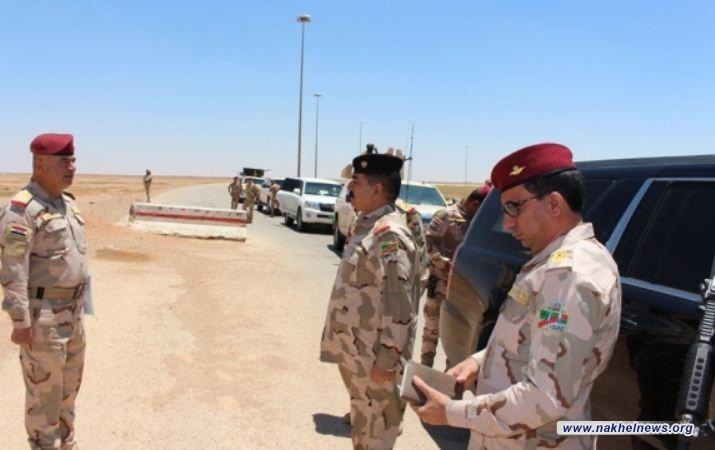 قائد القوات البرية يشدد على ضرورة نصب كاميرات مراقبة إضافية في المناطق الصحراوية