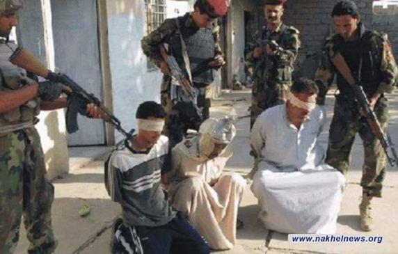 """اعتقال اربعة دواعش من """"ديوان الجند"""" في ايسر الموصل"""