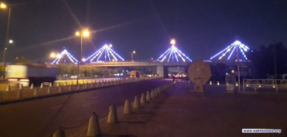 أمانة بغداد تعلن عن تهيئة وتزيين عدد من الشوارع والمجسرات خلال ايّام عيد الفطر المبارك