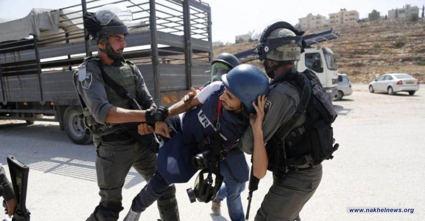 الاحتلال الإسرائيلي يحتجز 7 صحفيين وناشطا حقوقيا شمال الضفة الغربية