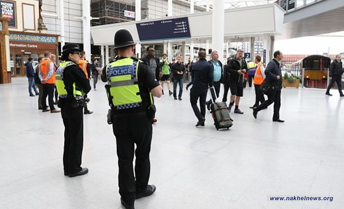 تعرض ثلاث اشخاص للطعن في محطة قطار مانشستر فيكتوريا ببريطانيا