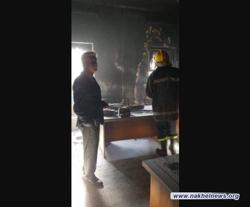 التربية تصدر توضيحا بشأن حريق المركز الامتحاني لثانوية الفردوس