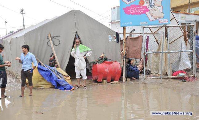 الهجرة تؤكد قرب إغلاق مخيمات النازحين في نينوى