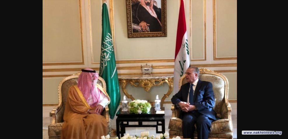 """الحكيم يبحث مع """"عادل الجبير"""" العلاقات الثنائية بين العراق والسعودية"""