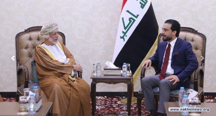 الحلبوسي ووزير الخارجية العماني يؤكدان ضرورة الحفاظ على الاستقرار في المنطقة