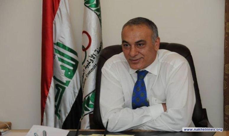 حمودي يوجه رسالة بشأن الازمة بين اللجنة الاولمبية ووزارة الشباب والرياضة