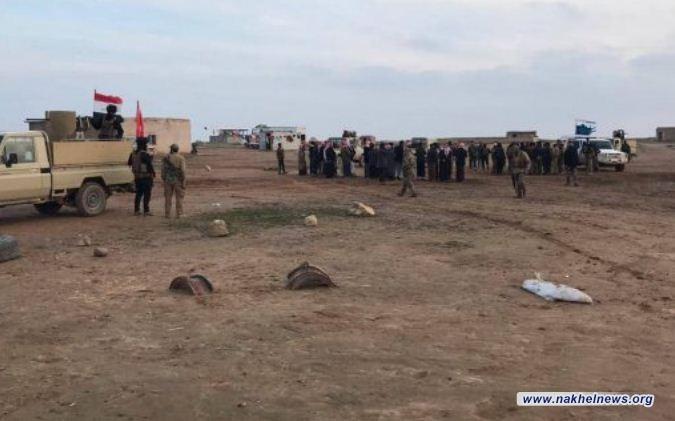 الحشد يحبط هجوماً انتحارياً ويلقي القبض على خلية سرية غرب نينوى