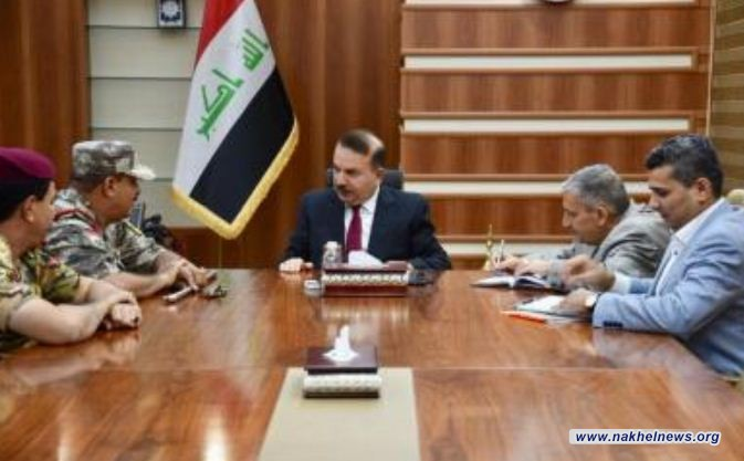 وزير الداخلية يشدد على أهمية وضع الخطط وتطويرها في ضبط الحدود