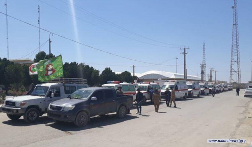 إيران تستقبل400 طن من المساعدات العراقية لتوزيعها على المنكوبين بالسيول