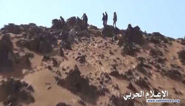 الجيش اليمني يجري عملية هجومية على مواقع المرتزقة في الجوف