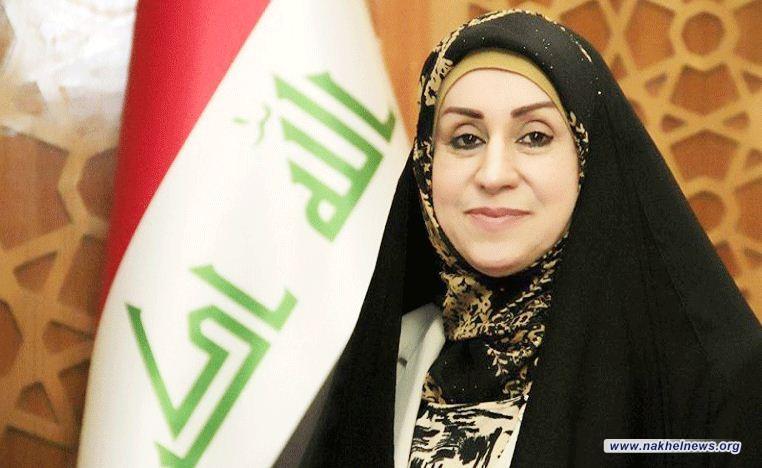 ماجدة التميمي تؤكد سعيها بتعديل فقرة قانونية تخص عقود وزارة الكهرباء