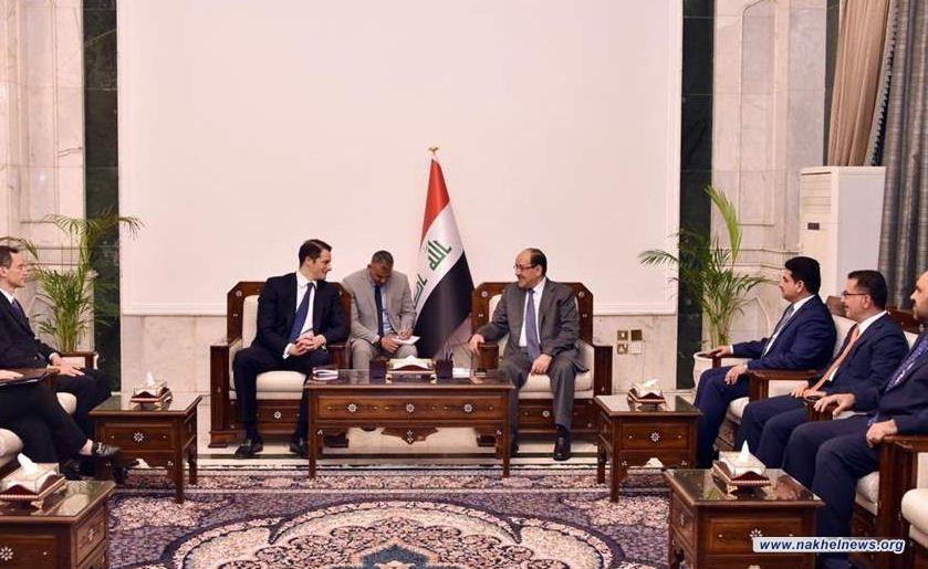 المالكي يبحث مع مسؤول ملف شؤون العراق وإيران في خارجية الولايات المتحدة مستجدات الاوضاع السياسية