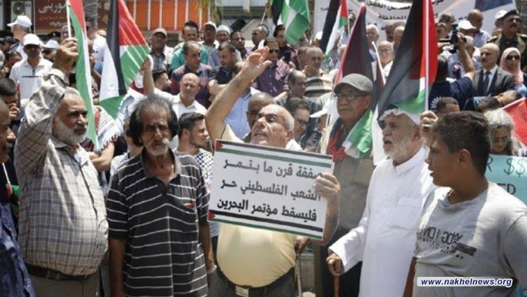 """المخابرات الفلسطينية تعتقل رجل أعمال شارك في """"مؤتمر المنامة"""""""