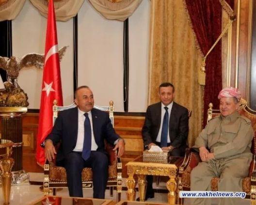 إوغلو: لدى تركيا الرغبة بتطبيع العلاقات مع حكومة أربيل