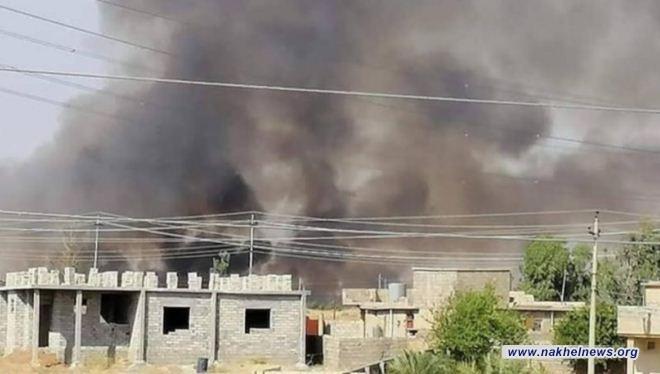 السيطرة على الحريق الذي اندلع بالقرب من الشركة العامة لكبريت المشراق في نينوى