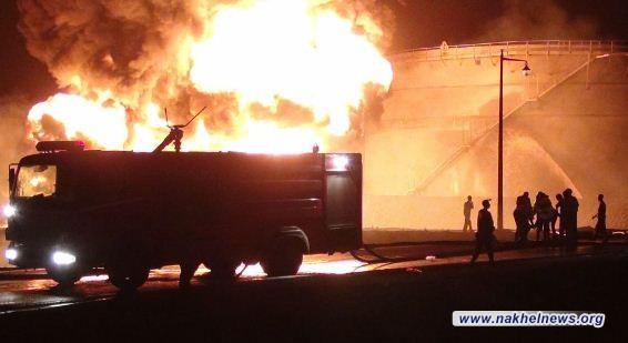 لعيبي: اسطول وزارة النقل متهيئ للتدخل لإجلاء العوائل القريبة من حريق المشراق