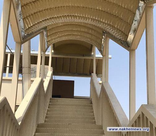أمانة بغداد تعلن ادخال ثلاثة جسور مخصصة لعبور المشاة الخدمة الفعلية في العاصمة