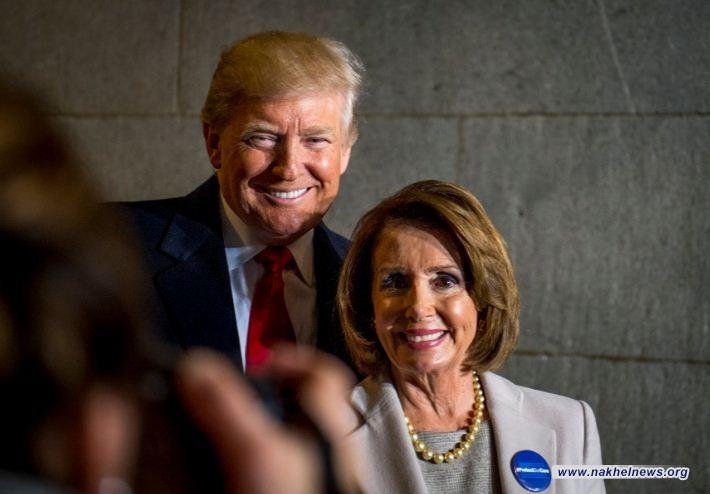 """ترامب: انتخاب نانسي بيلوسي رئيسًا للكونجرس """"إنجاز كبير للغاية"""""""