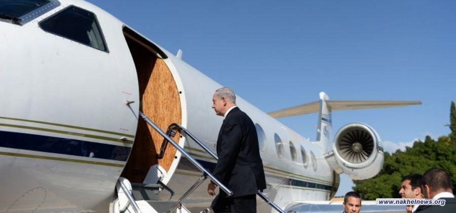 """انفجار بطائرة """"نتنياهو"""" أثناء عودته من مؤتمر وارسو"""