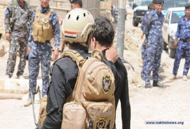 عمليات نينوى: مقتل 5 من الدواعش داخل نفق غربي منطقة الصخيريات