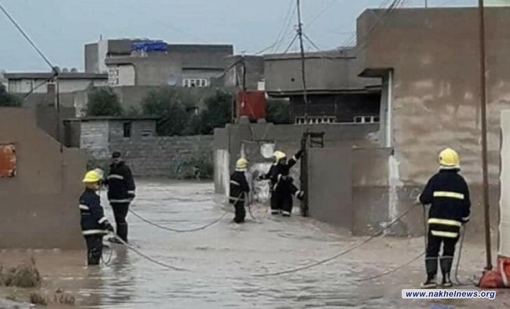 الدفاع المدني في نينوى تحذر المواطنين الساكنين على ضفاف نهر دجلة