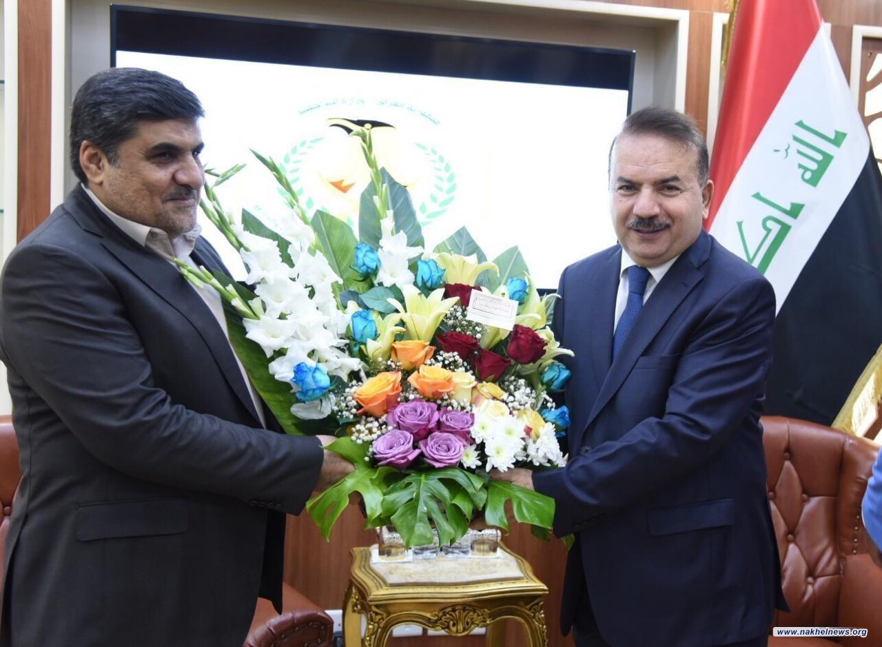 وفد منظمة بدر برئاسة الأنصاري يلتقي بوزير الداخلية لتقديم التهاني