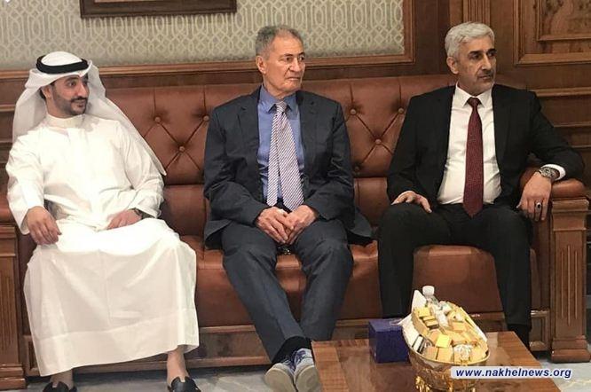 وزير الشباب والرياضة يكشف عن عدة اجراءات خلال زيارته للكويت