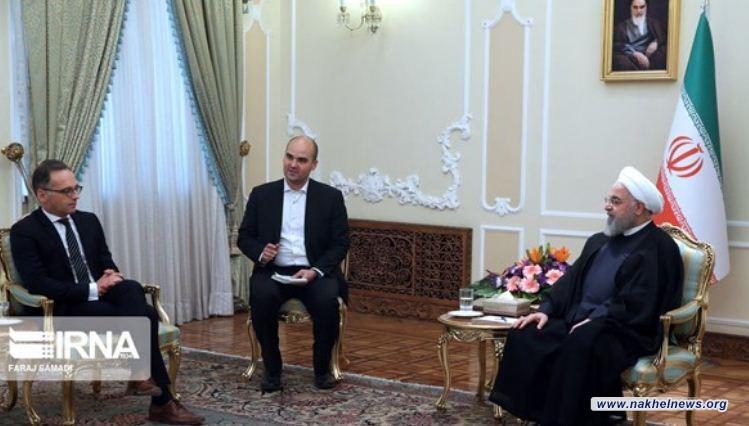 روحاني: على اوروبا الصمود بوجه الارهاب الاقتصادي الاميركي