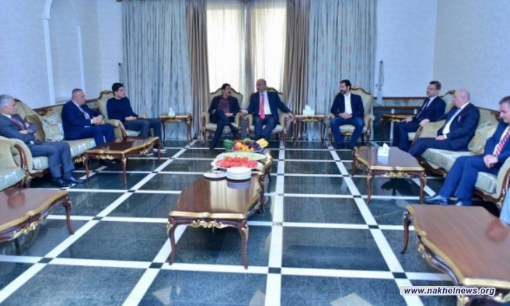 الرئيس صالح وكوسرت رسول يبحثان الأوضاع في كركوك