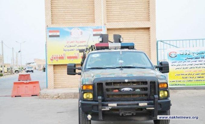 احالة 39 شاحنة للقضاء تحمل حديد تسليح في منفذ الشيب الحدودي