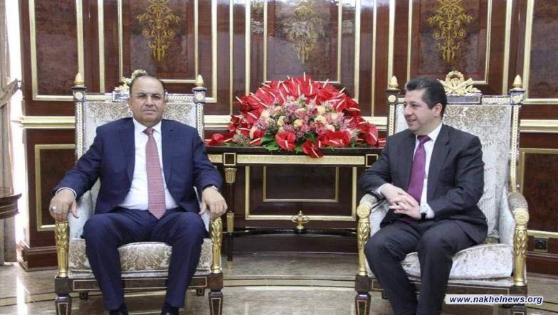 اجتماع بين مكافحة الإرهاب وكردستان لبحث التنسيق الأمني المشترك