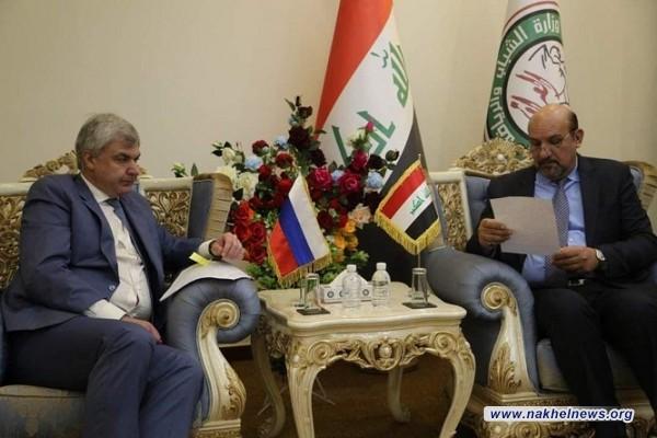 وزير الرياضة الروسي يزور بغداد لتوقيع اتفاق مشترك