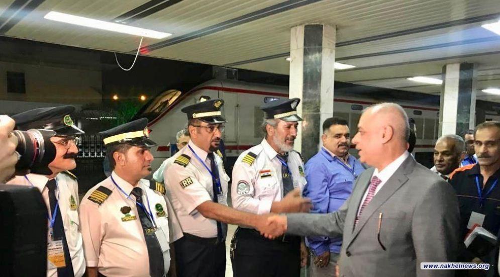 وزارة النقل تعلن انطلاق الرحلة الاولى لقطار السوبر من بغداد الى البصرة